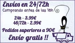 Envíos en 24-48h y Gastos de envío gratuitos a partir de 90€