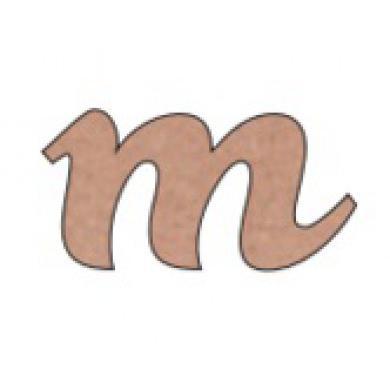 Abecedario Rose Minuscula Letra M