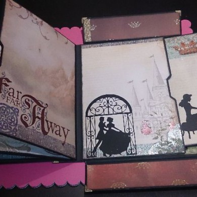 Album de Scrapbooking Once Upon a Time