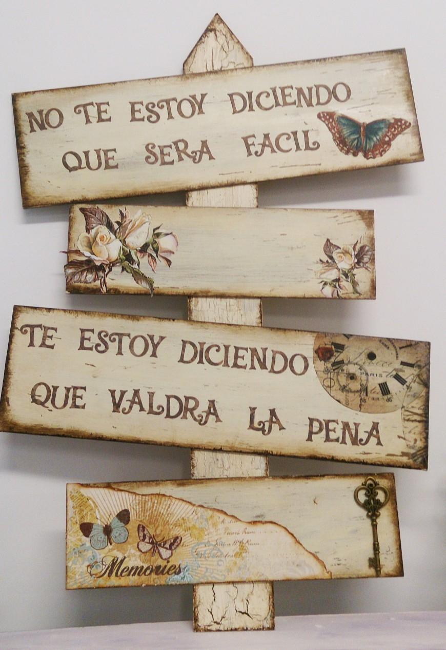Tablas de madera decoradas proyectos y regalos - Madera para decoracion ...